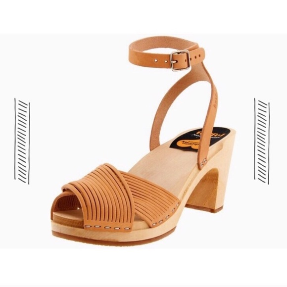 Swedish Hasbeens Leather Ankle Strap Sandals big discount cheap online from china free shipping free shipping pay with visa outlet 2014 newest xSdfsTRSN